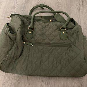 Army Green Weekender bag